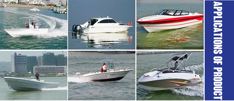 Gather China cheap Best low price commercial cheap fiberglass boat