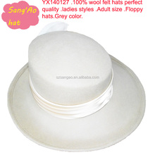 wholesale white womens church hats for party