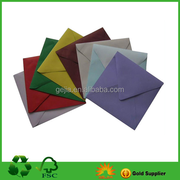 Color Paper Envelope with Printing