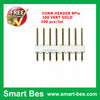 Smart bes Hot selling!! Free shipping 8 pins 100pcs/lot Single Row ,space 2.54 mm Pitch Straight Needle Female Pin Header