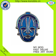 Enamel brand logo nickel clothes badges