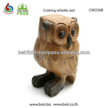 wooden instruments whistles owls