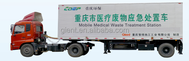 Mobile Solution for Medical Waste Treatment