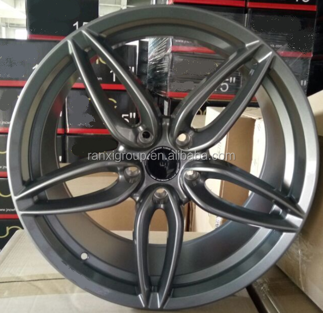 new steel gray 19 inch aluminum alloy car wheel rim 5*114.3