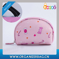 Encai New Printing Small Make-up Bag Lady Fashion Semi-circular Cosmetic Bag