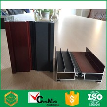 New Design Wood Colored Aluminum Profile Track Factory