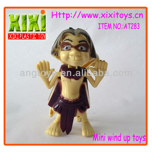 7.5Cm Most Popular Toys 2014 Wind Up Toys Small Cartoon Toy