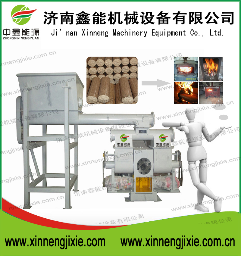 Hot sale! Professional manufacturer of durable sawdust/ rice husk/ palm shell biomass press machine with ce
