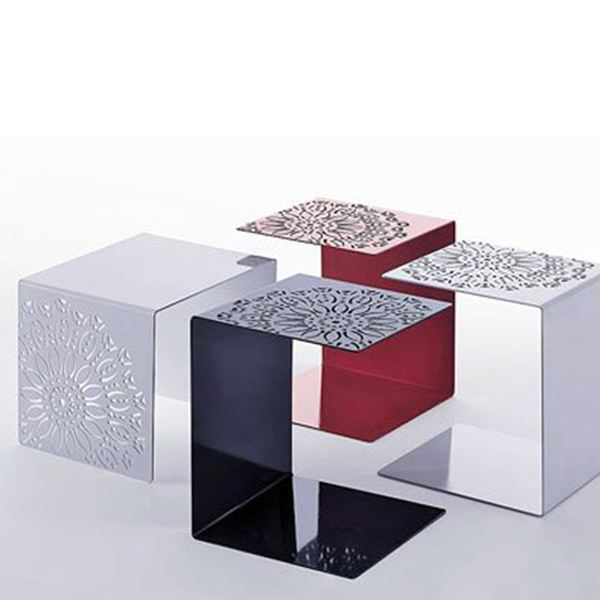 Color Acrylic FurniturePlexiglass Coffee FurnishingsColored - Acrylic cube side table