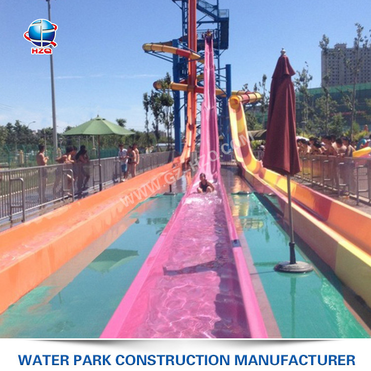 Quickly assemble steepest facility used water slides park plan