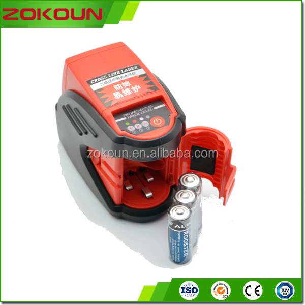 Cheapest price rotating small red line laser level equipment