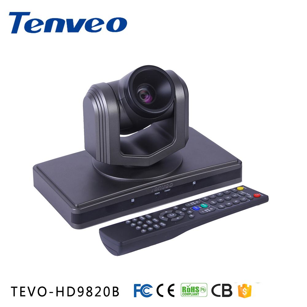 TEVO-HD9820B USB3.0 full HD video signals 1080P RS-232C VAIP PHONE 360 web camera for conference calls