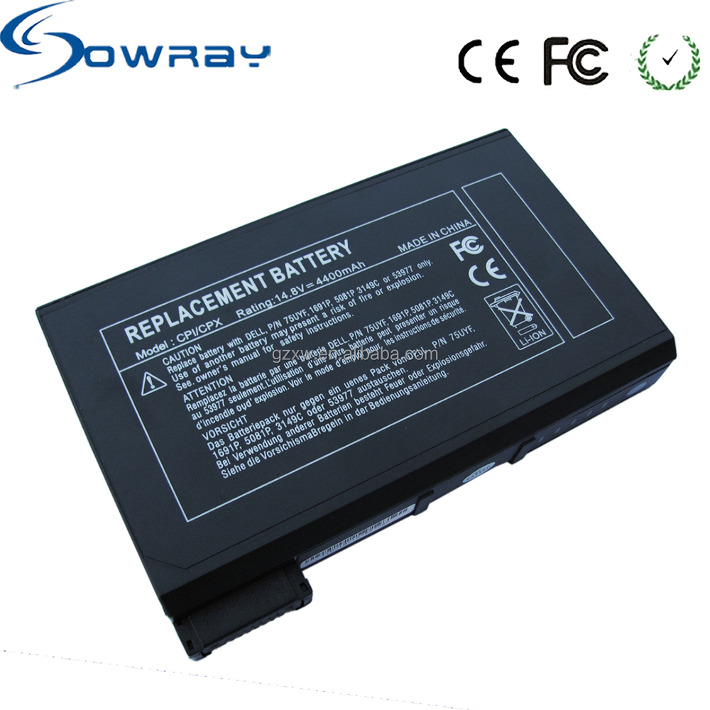 New Battery for Dell Latitude C600 C610 C640 CPI CPX Series laptop /14.8v