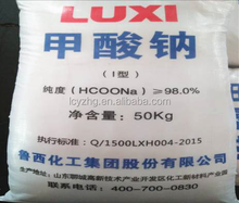 LUXI chemical supply sodium formate best price