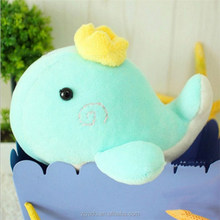 Factory direct sale whale doll plush toys children's love plush toys cute animal toys