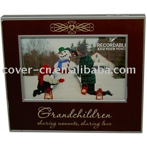 promotional voice recordable picture frame