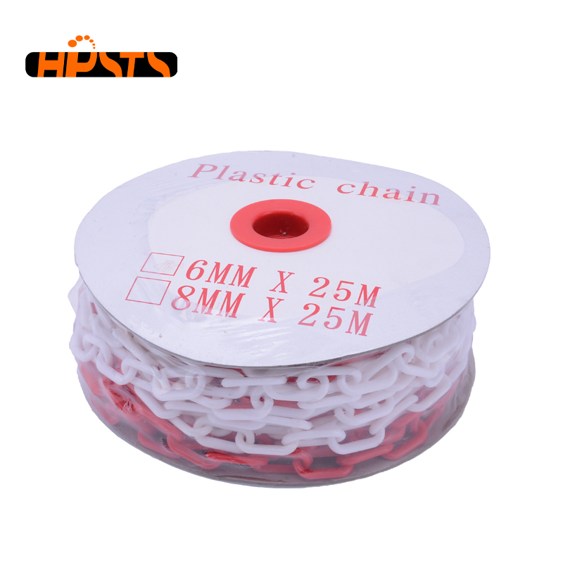 Fashionable plastic tire chains