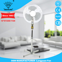 Home appliance common style stand fan with high quality
