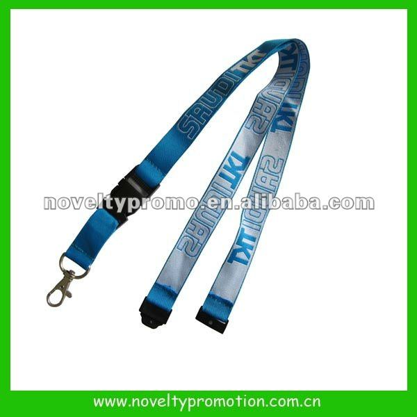 Customized Polyester Embroidery Lanyard