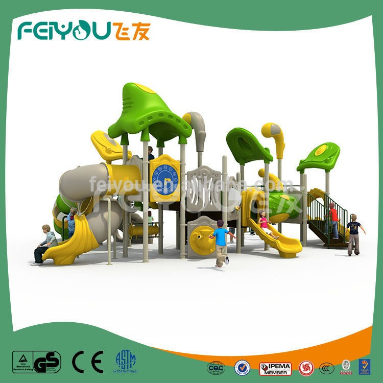 Feiyou Kids Commercial Heavy Duty Safety Outdoor Playground Equipment With Slide