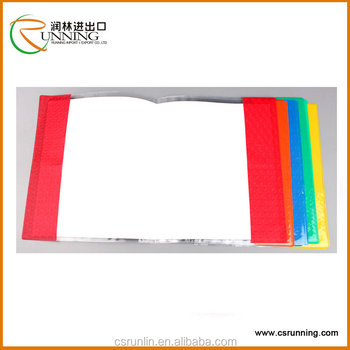 Customize Hot Sale Transparent Plastic Book Cover
