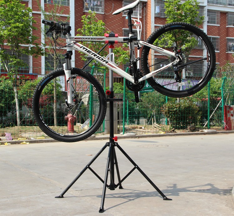 bicycle steel telescopic arm cycle work stand foldable Mountain bike repair stand