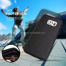 Fashion TPU+PC hybrid phone cases for samsung galaxy s6 edge case armor king china suppliers