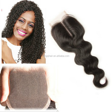 100% Natural Indian Human Hair Price List 360 Lace Frontal Closure Lace Closure