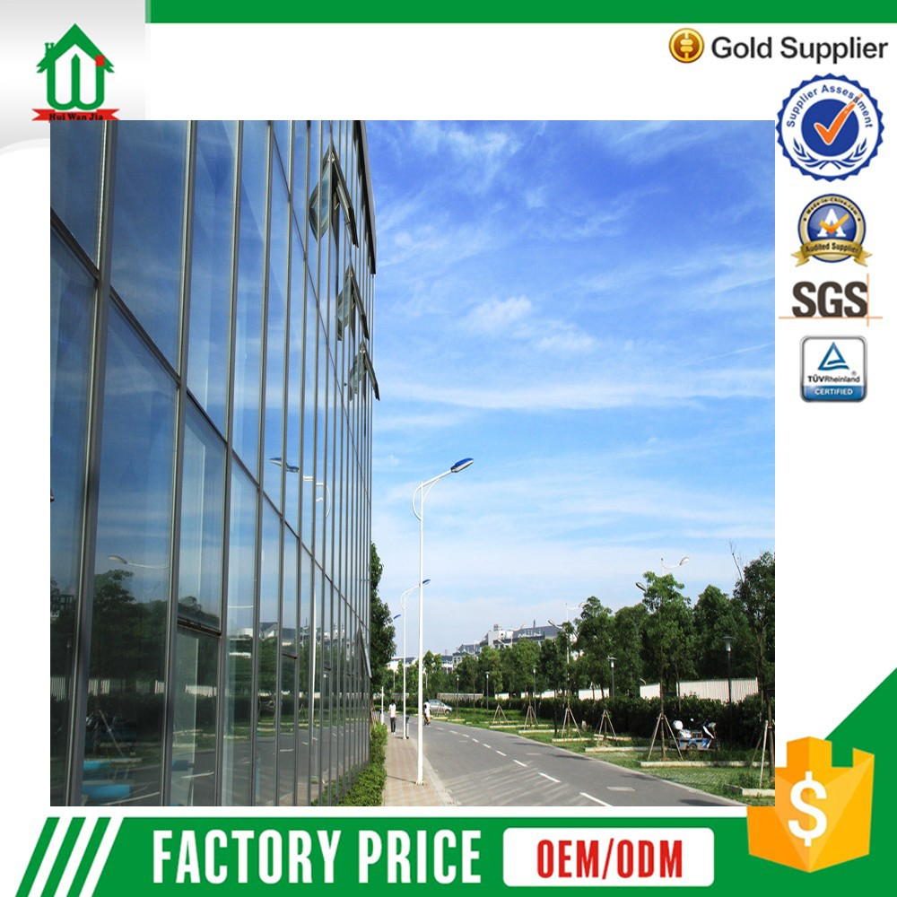 Factory price aluminium window curtain wall window frame