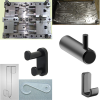 cylinder plastic mould ,plastic injection wall plug mould / molds