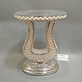 Large Handmade Design Wedding Table Centerpieces Mirrored Vase Stand 46*33*61