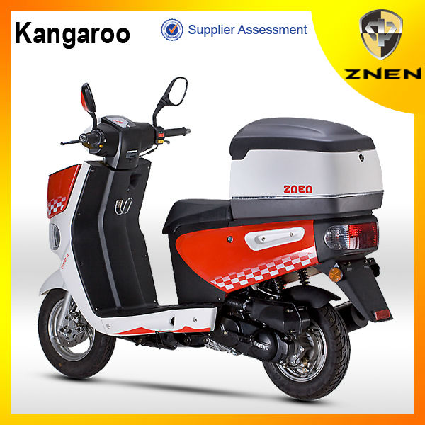 ZNEN MOTOR -125cc With Big Rear Box Gas Scooter delivery 50CC scooter