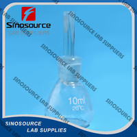 High Quality 10-100ml Glass Specific Gravity Bottle in Laboratory