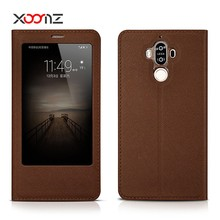 XOOMZ PU Leather Cross Pattern Smart Cover for Huawei Mate 9