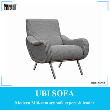 New design elegant luxury unique home furniture fabric chair