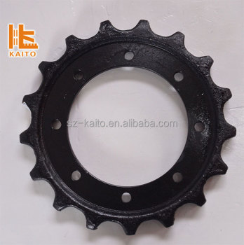 industrial casting Sprockets for Transmission Parts crawler track milling machine paver undercarriage parts