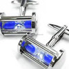 316L Stainless Steel Hourglass Cufflink Men