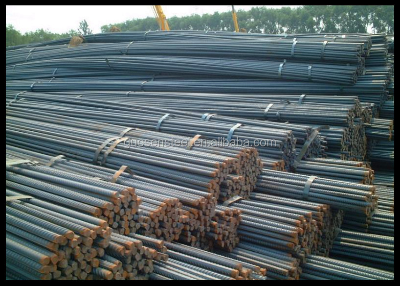 Hot rolled reinforcing steel rebar / 12mm iron rod price