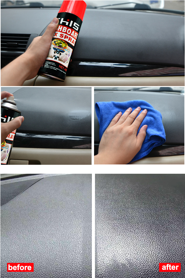 Best Car Cleans and Polishes Dashboard Wax Spray