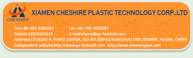 Cheshire transparent hot melt glue for label stick