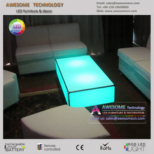 sofa side acrylic end table for events (TA120)