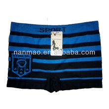 OEM type man's basic underwear boxer short seamless underwear cueca boxer men