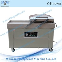 DZ-500 2SB Double Chamers Flat board Food Fish Leaf Industrial Large Vacuum Packing Machine