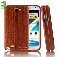 Real Wood Case for Samsung Galaxy Note 2 Cellphone Wood Case