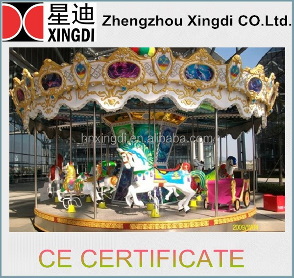 Meaningful Family Games Playground Amusement Park Equipment merry -go-round for Sell