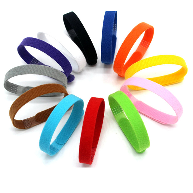 Pet ID Collar 12 color Soft Hook and Loop <strong>Nylon</strong>