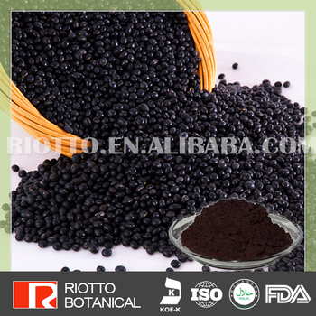 Organic Black Bean Peel Extract in Riotto with best quality !!!