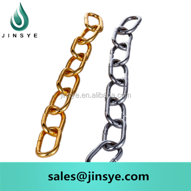 silver metal decoration chain for hanging light