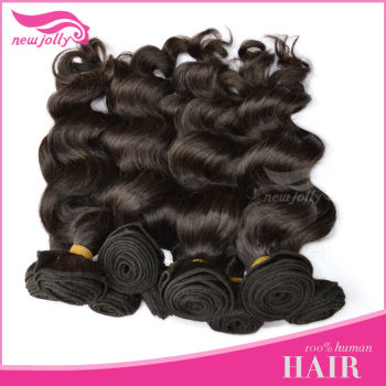 New coming top quality virgin peruvian hair 100% human hair the most beautiful style Italian wave