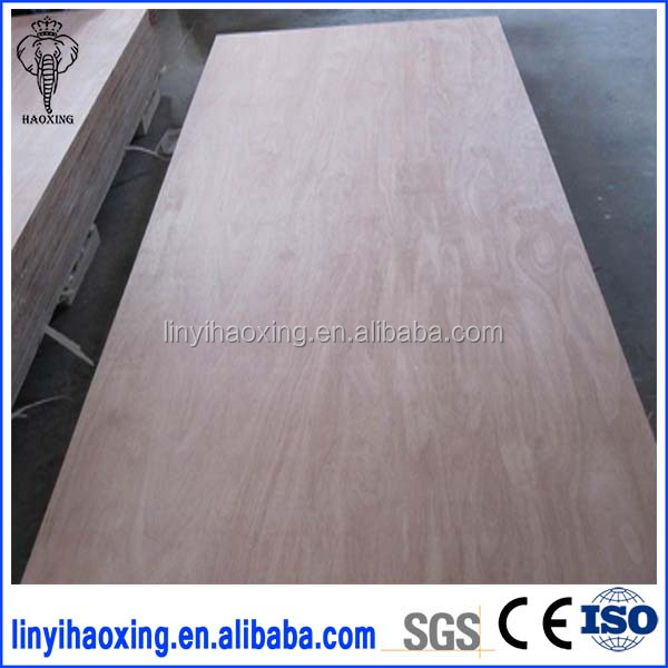 First-Class Grade and Poplar Main Material 18mm okoume plywood board